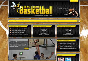 Basketball club site